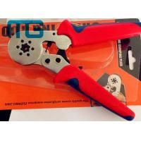 China 180mm Terminal Crimping Tool 24-10 AWG , MG-8-6-6 Carbon Steel Non Insulated Crimping Pliers wholesale