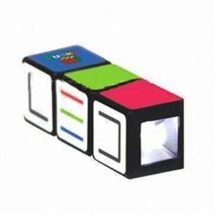 China Twist Mini LED Keyring, Made of ABS wholesale