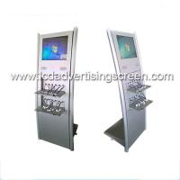 China Floor Stand Lcd Advertising Display Built In Multi Public Mobile Phone Charging Station wholesale