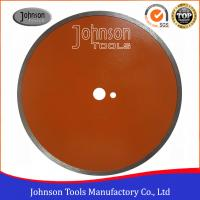 China 350mm Ceramic Tile Saw Blades Diamond Sintered Continuous Saw Blade For Porcelain wholesale