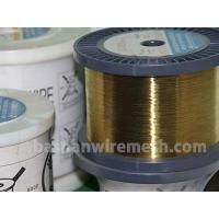 China Bashan factory direct supply Cu63%,Zn37  Cu60%,Zn40%  0.01~0.30mm EDM brass wire for cutting on sale