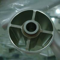 Buy cheap Extruded Aluminium Industrial Profile Buff Anodizing ISO9001 / ISO14001/ OHSAS from wholesalers