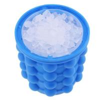 China Multi Functional Silicone Ice Cube Maker Food Grade Ice Buckets Saving Space wholesale