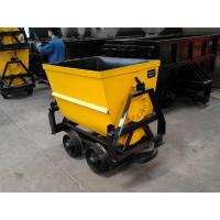 China KFU Series 600mm gauge bucket tipping mine car with MA certification wholesale