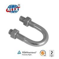 China Attach Piping U Bolt with ZINC plate Surface wholesale