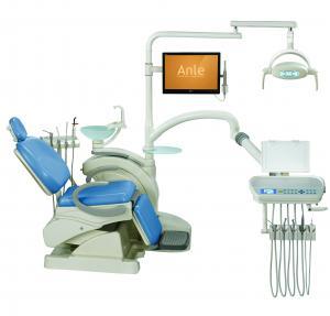 Complete Dental Chair Suction Unit / Portable Dental Unit Glass Spittoon