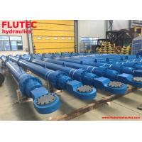 China Water Dam Long Stroke Hydraulic Cylinder Ceramic Coating Trunnion Mounting on sale