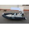 China Coque gonflable inférieure dure de fibre de verre de bateau de résistance à l'abrasion avec la couche de PVC wholesale