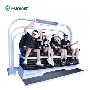 China Motion Cinema 9D VR Chair 4 Seats Electric System 7D Theater 5D Game Machine Amusement Park wholesale