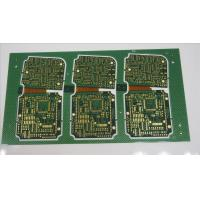 China Multilayer Standard Printed Circuit Board Immersion Gold Plating 1OZ 0.1mm Width on sale