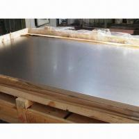 China Gr1/Gr2 Pure Titanium Sheet, Available in Various Sizes wholesale