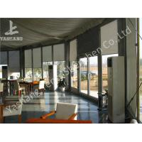China Transparent Glass Wall and Glass Door Gazebo Canopy Tents White PVC Cover wholesale