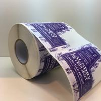 China Custom die cut label,waterproof labels in rolls,laundry detergent labels wholesale