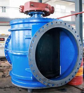 China AWWA DN1400 Zero Leakage Water Plug Valve / Full Port Plug Valve No Port Shrinking Low Head Loss on sale