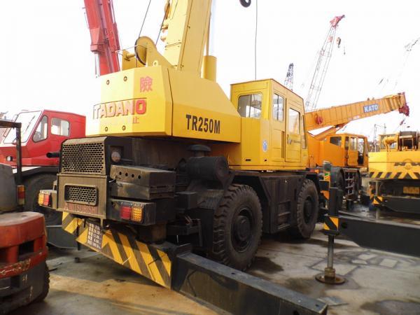 Tadano rough terrain mobile crane : Rough terrain crane images