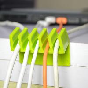 China diviseur en plastique de corde de vente de tête de téléphone d'écouteur de câble d'agrafe chaude de baisse wholesale