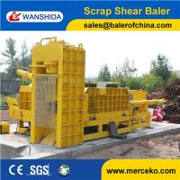 China Best price Scrap Metal Shearing Baler Machine to cut and press waste copper & aluminum export on sale
