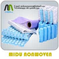 China Spring Bag Nonwoven Fabric mattress linin Spunbond non wovens wholesale