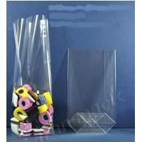 China OPP square bottom bag, perforated bags,bakery bags, gusset poly bags, cellophane bags wholesale