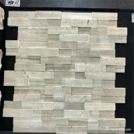 "Slate Culture Stone WPB-67 Corner 6 ""X 18"" X 6""  Flat Panel 6"" X 24"" white culture stone"