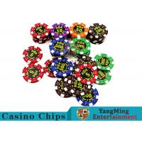 Good Printing Non - Faded Casino Royale Poker Chips With Special ABS Material for sale