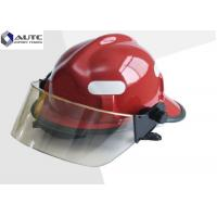 China OEM ODM PPE Safety Helmet Waterproof Multilayer Structure High Tensile Strength on sale