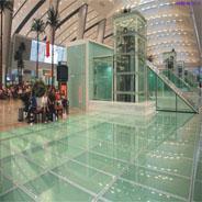 China Laminate Glass Floor wholesale