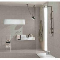 China Floor Full Body Porcelain Tile  Lappato Suface Treatment Grey Colored on sale