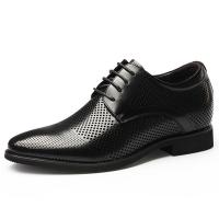 China Height increasing elevator shoes summer hollow leather dress shoes for men wholesale