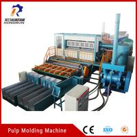 China Recycling Waste Paper Egg Tray  Machine , Pulp Egg Tray Making Machine wholesale
