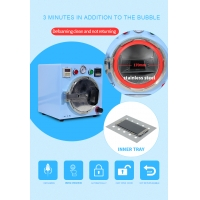 TBK-305 Small OCA Removing Bubble Machine Automatic Small Version Defoaming Tool Kit For Samsung Edge Lcd Repair
