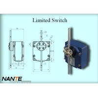 China Blue Electric Wire Rope Hoist Limited Switch Plastic Wheel Swing Arm Rotary wholesale