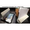 China Pour l'ipad mini trois fois la couverture intelligente en cuir, support en cuir pour l'ipad wholesale
