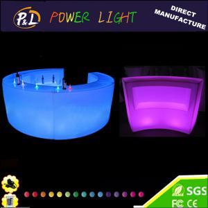 China Illuminated Plastic Led Modern Bar Counter on sale