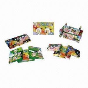 China Magic Cubes, Measures 12.80x7.80x0.80cm, Made of Plastic wholesale
