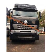 China Double Sleepers International Tractor Truck SINOTRUK HOWO A7 LHD 6X4 Euro2 420HP ZZ4257V3247N1B wholesale