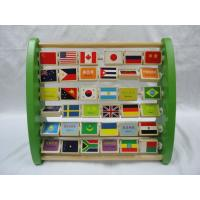 China Early Childhood Top Educational Preschool Wooden Enlighten Nation Flag Literacy Toys wholesale
