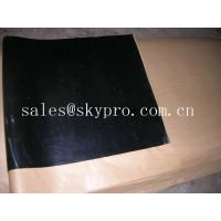 China Custom Width self-adhesive / PSA backing rubber sheet roll , easy released glue on sale