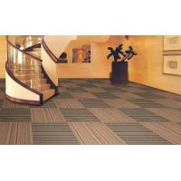 China Commercial Office Carpet Pile Height 3.5mm Pattern Level Loop 50*50cm wholesale