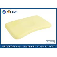 China Memory Foam Baby Neck Pillow / Infant Pillow with Cotton Velvet Cover wholesale