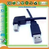 China Premium USB AM TO BM ,Angle AM TO BM Cable wholesale