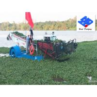 China Water Garbage Collection Boat/Trash Skimmer Ship for Lake Pollution Clean wholesale