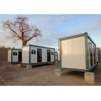China Flat Roof Leisure Modern Container House With Internal Water Draining Design wholesale
