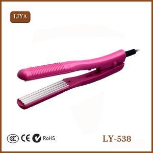 China Ionic Ceramic Flat Iron Fast Heat Design Gorgeous Hair Straightener on sale