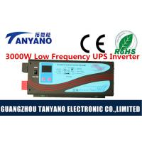China CPU Function LCD Display DC to AC 3000W Low Frequency Inverter with UPS and Battery Charger wholesale