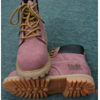 China Safety Girl Steel Toe Waterproof Women's Work Boots-Light Pink on sale