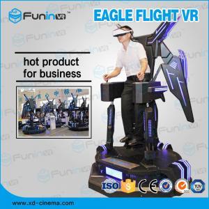 China Standing Eagle Flight Simulator Virtual Reality / 9D VR Cinema wholesale