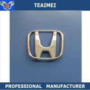 China Honda Car Badge Names Personalised Name Badges Plated Material wholesale