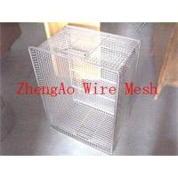 China supply stainless steel wire mesh baskets wholesale