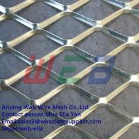 China Galvanized expanded metal mesh for construction(Anping Factory) wholesale